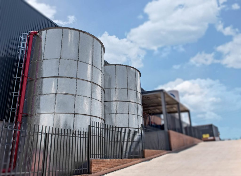 CIRCULAR STEEL WATER TANKS